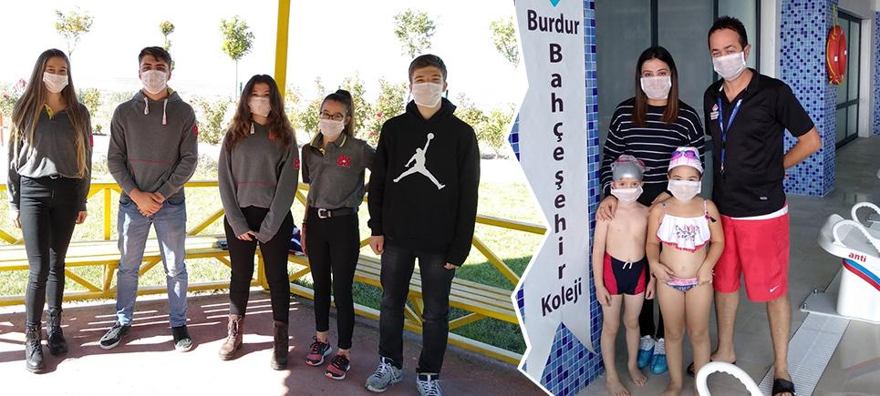 Burdur Bahçeşehir Kolejinden LÖSEV'e destek