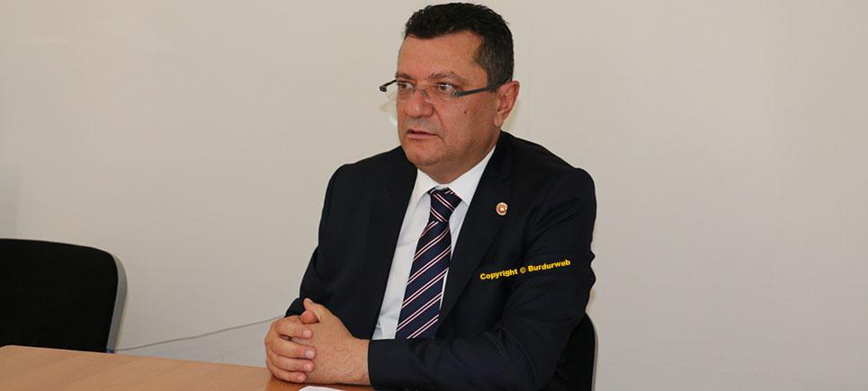 """Milletvekili Göker, """"Burdur Şeker Fabrikası acilen modernize edilmeli"""""""