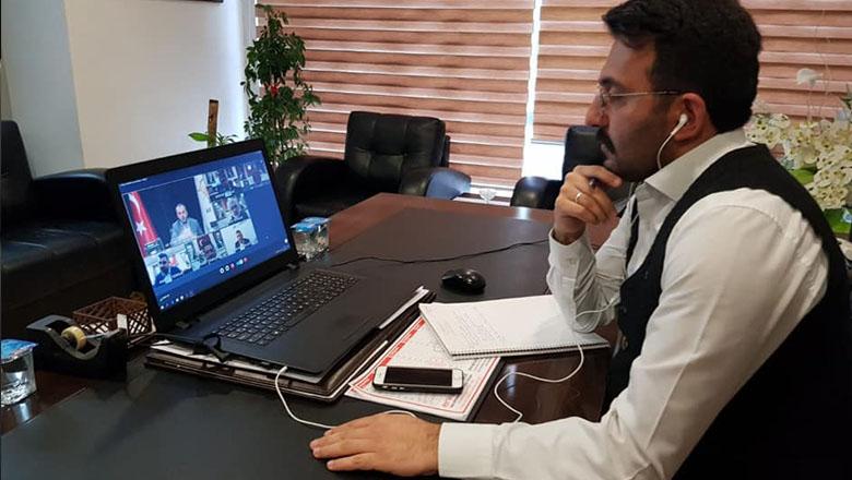 Başkan Mengi'den telekonferanslı önlem