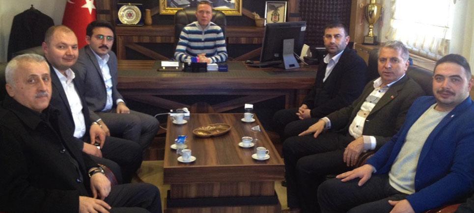 Başkan Mengi'den Başkan Adayı Sertbaş'a sahada destek