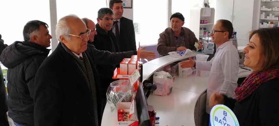 CHP'li Mümtaz Şenel hızlı başladı