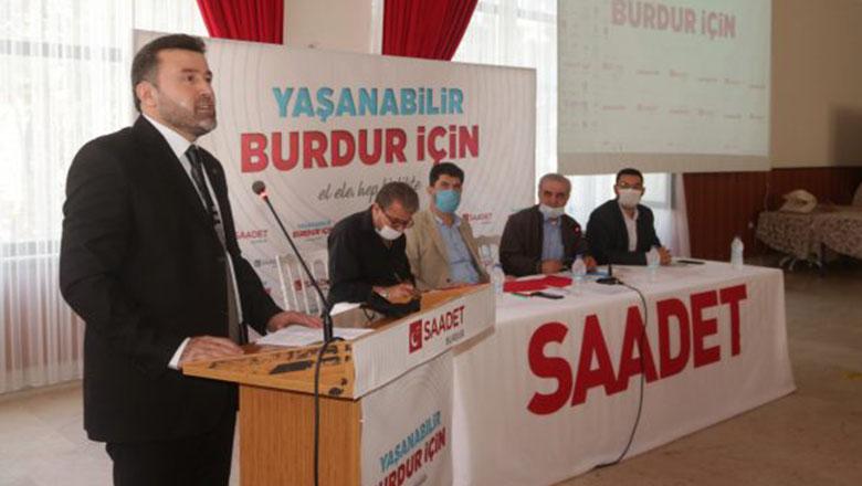Saadet Partisi'nde il kongresi gerçekleşti