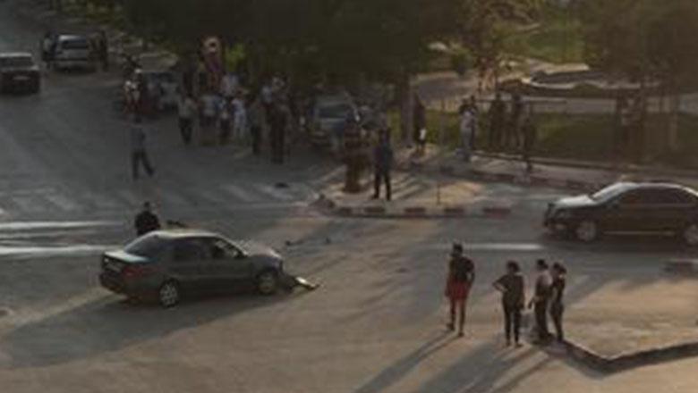 Güzelleştirme Caddesi'nde trafik kazası