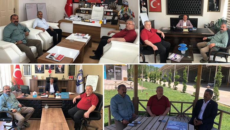 Başkan Ökte'den MHP'li Belediyelere sıkı temas