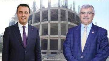 Burdur'da 3 okulun inşaatı sürüyor