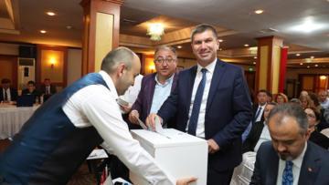 Başkan Ercengiz, Türkiye Sağlıklı Kentler Birliği Başkan Vekili Seçildi