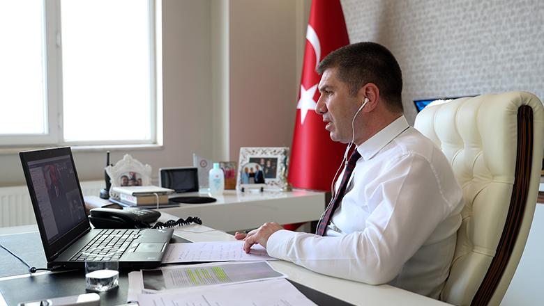 Başkan Ercengiz Kılıçdaroğlu ile görüştü