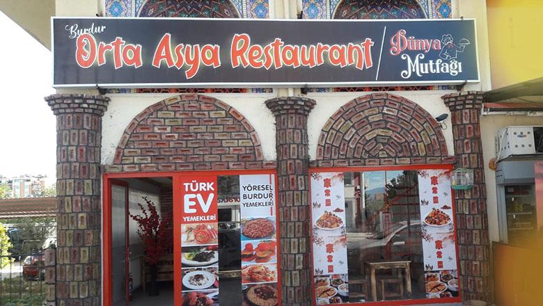 Burdur Orta Asya Restaurant çok yakında hizmetinizde