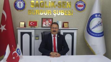 """Şube Başkanı Ozan: """"Burdur Devlet Hastanesi neden karıştırılıyor?"""""""