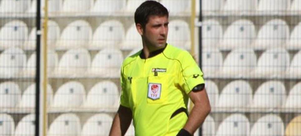 Burdurlu hakem Özkan Çeliker Beşiktaş maçını yönetecek