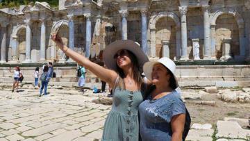 İmparatorların şehri Sagalassos'a ziyaretçi akını