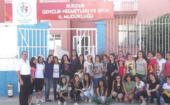 Salda Gölü Gençlik Kampı Başladı