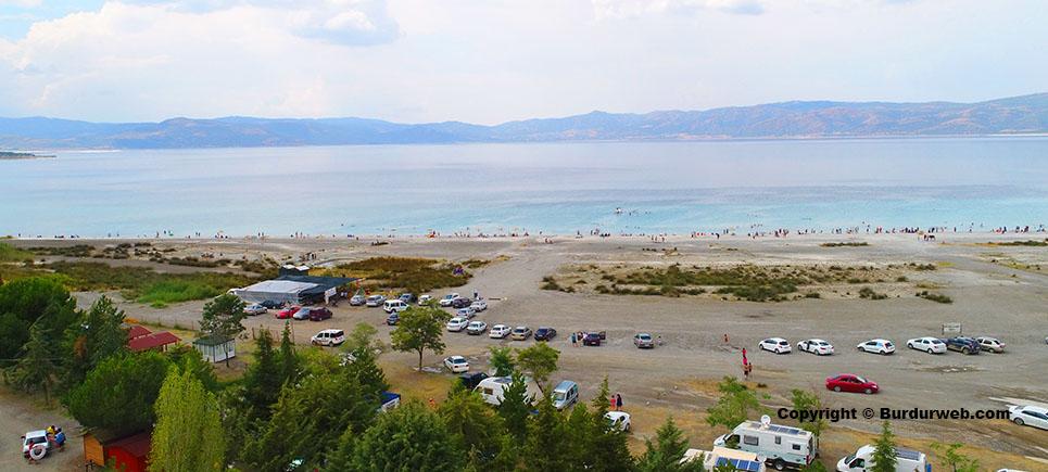 Salda Gölü festivaline turizmcilerden de büyük tepki