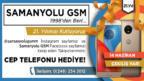 Samanyolu GSM'den çekiliş kampanyası