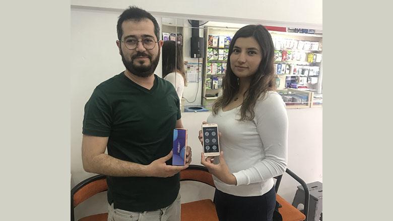 Samanyolu GSM'in şanslı talihlisi hediyesi aldı
