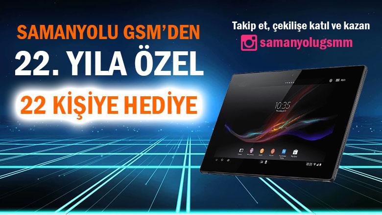 Samanyolu GSM'den 22. yıla özel 22 kişiye hediye