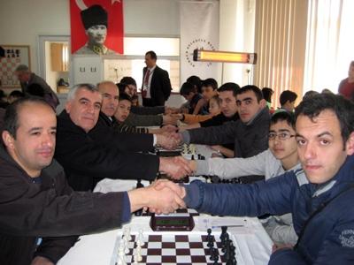 Satrançta İl Kulüpler Yarışmaları Başladı