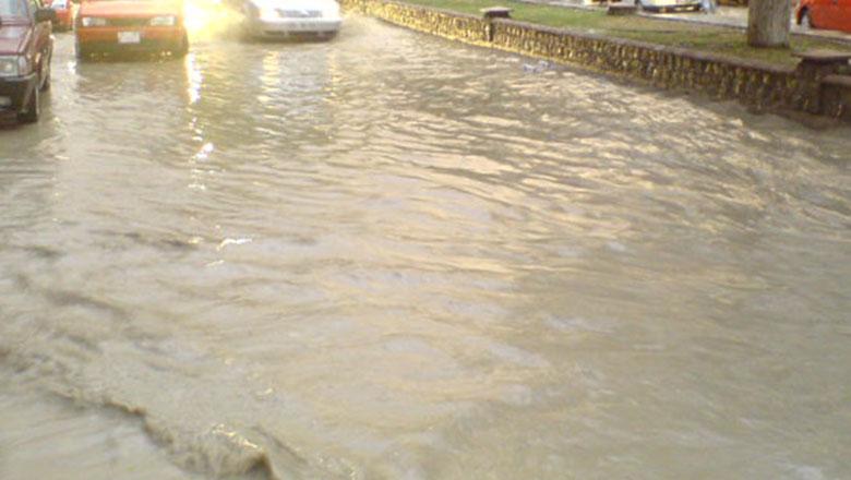 Burdur için su baskını ve sel uyarısı