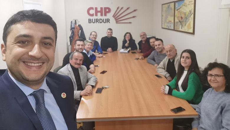 CHP Merkez İlçe Başkanı Şimşek yönetimi belirledi