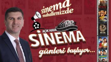 Başkan Ercengiz'den sinema günleri müjdesi!