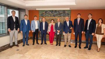 Başkan Ercengiz SODEM için İzmir'de