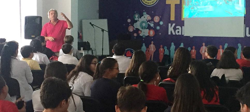 TED Isparta Koleji öğrencileri İngiltere'ye gidiyor