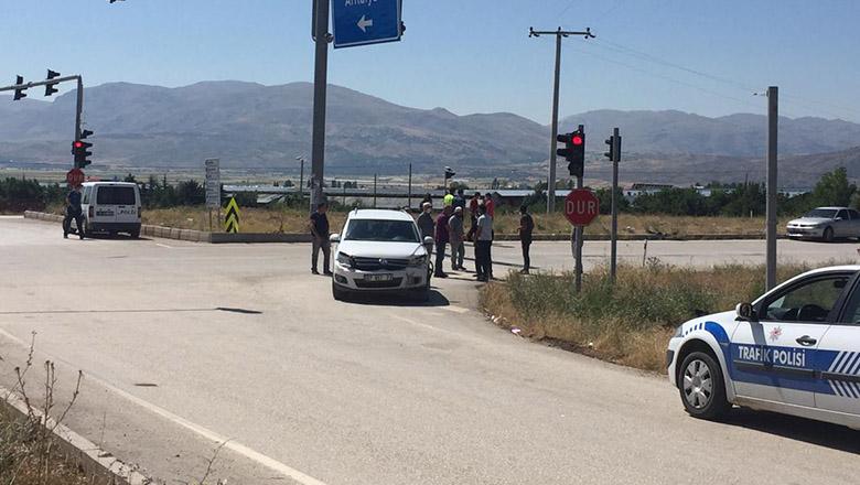 Tefenni'de feci trafik kazası