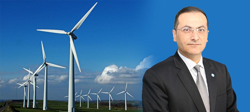 DSP'li Başkan Adayı Toyman'dan rüzgar gülü projesi