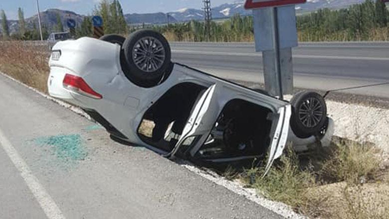 Burdur yolunda trafik kazası