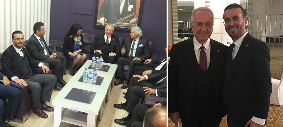 BUSİAD Başkanı Hurşit Çetin'den Ekonominin Patronu TUSİAD Başkanı Erol Bilecik'i Burdur'a davet etti.