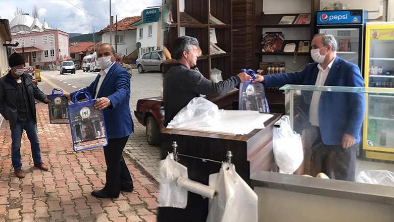Başkan Ali Ulusoy'dan virüsten korunma paketi