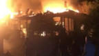 Gençali Köyü'nde ev yangını