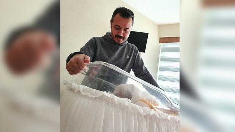 Milletvekili Yasin Uğur, 4. kez baba oldu