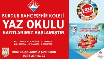 Bahçeşehir yaz okulu sizi bekliyor