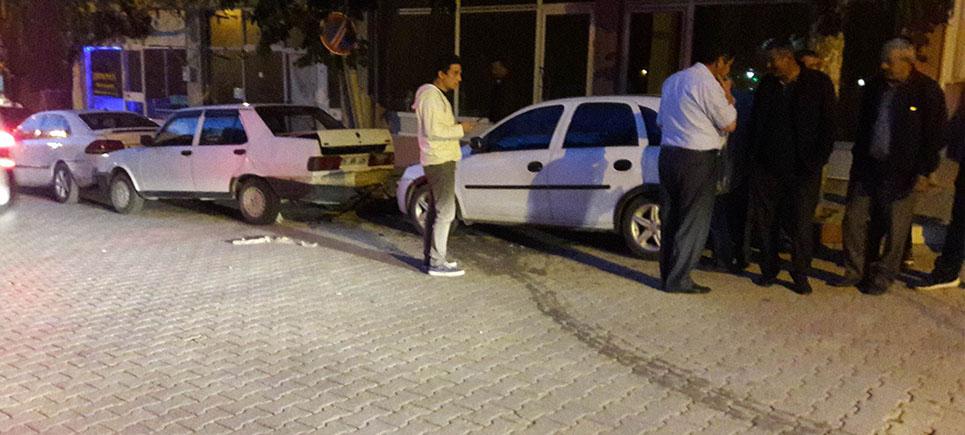Yeşilova'da zincirleme kaza
