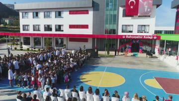 Burdur'un en modern okulunda yeni dönem heyecanı