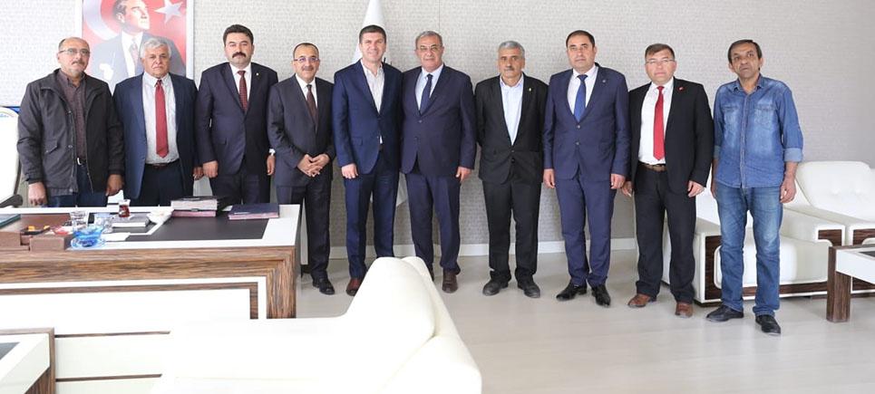 Tural ve Birlik yönetiminden Başkan Ercengiz'e hayırlı olsun ziyareti
